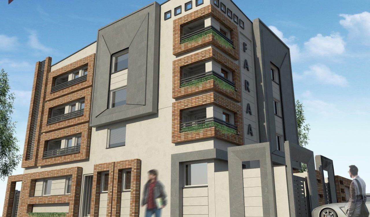طراحی نما مسکونی